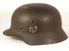 Army M40 single decal combat helmet by Quist