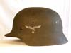 Mint Luftwaffe M40 single decal helmet by Quist
