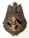 TeNo ( Technical Emergency Service)  Honor  badge with 1922 date, #'d 2456