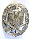 Army / Waffen SS General assault badge