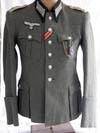 Named Army Infantry Leutnant's tunic and trousers