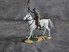 W. Britain ,20048, Zulu Warrior Mounted