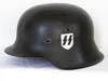 Waffen SS M42 helmet with reversed decal by NS