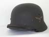 Luftwaffe M40 single decal combat helmet by Quist
