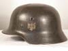Army M40 single decal named combat helmet by ET