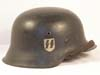 Waffen SS single decal combat helmet by CKL