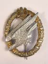 Very Rare Aluminum Aarmy Paratrooper badge