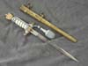 Kriegsmarine  2nd model officer dagger by WKC with portepee