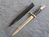 Rare Student League School short bayonet by J.A.