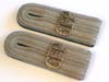 Army Geheimefeldpolizei ( Secret Field Police ) matched slip-on shoulder board ( Schulterst�cke) set