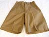 Rare Army tropical un-issued shorts