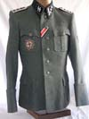 Named Waffen SS Germania Regiment  of Das Reich ( later Wiking) Haupsturmfuhrer tunic