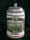 Remembrance Stein for Service Days with  Montabaur 2 .J. E. / Inf. Rgt. 80