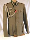 Army Pionier Oberstleutnant's named and dated four pocket service tunic