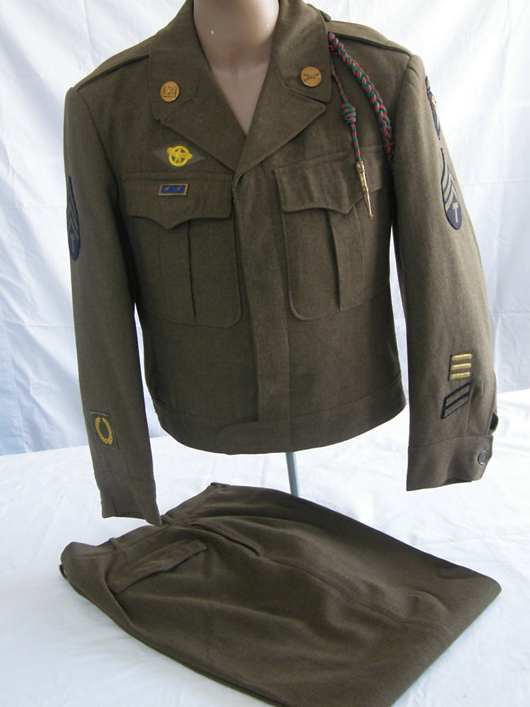 Us uniforms world war ii us army 101st airborne ike jacket for a technical sergeant publicscrutiny Choice Image