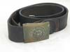 Jungdeutscher Orden brass buckle and leather strap