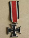 Iron Cross 2nd Class marked on ring 65