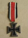 Iron Cross 2nd Class marked on ring 27