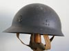 Very rare early 1st model Japanese Marine Naval Landing Forces helmet