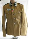 Army Russian Front made tunic made of zeltbahn material