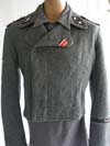 Rare Waffen SS Assault Gun wrap made at Ravensbruch with Nordland cufftitle