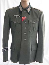 Rare Army Gross Deutschland Infantry Oberleutant tunic